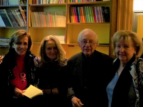Diane Giguère, Claire Varin, Jacques L'Heureux, Monique Varin. Photo Julie Mackay