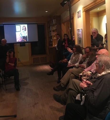 Une partie du public au lancement Animalis Claire Varin